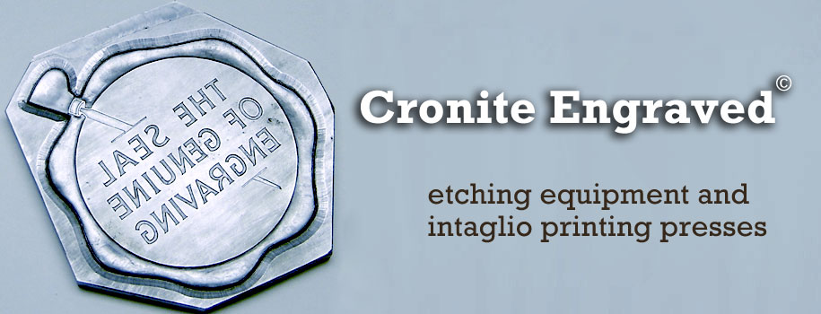 Cronite Engraved: elegant stationery and high-end packaging