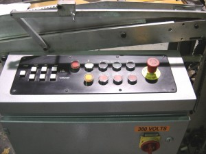 Control on Cronite sheet feeder