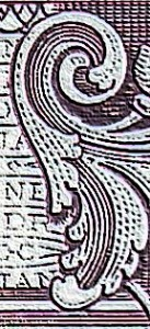 Close-up of an engraved image